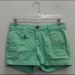 Green Banana Republic City Chino Jean shorts